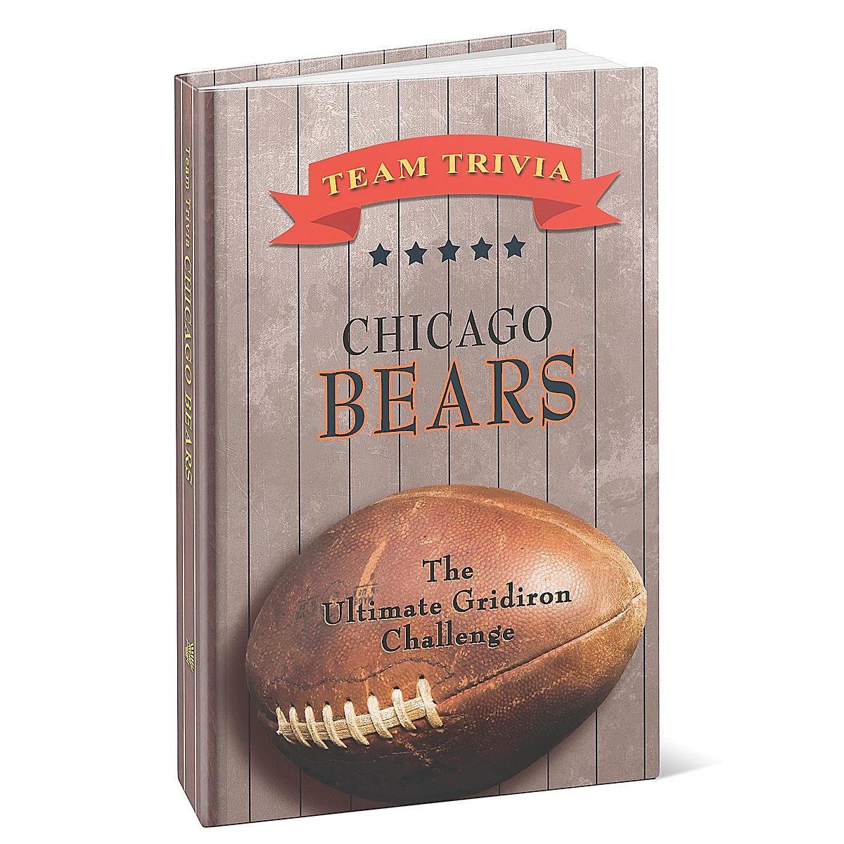 Chicago Bears NFL Team Trivia Book