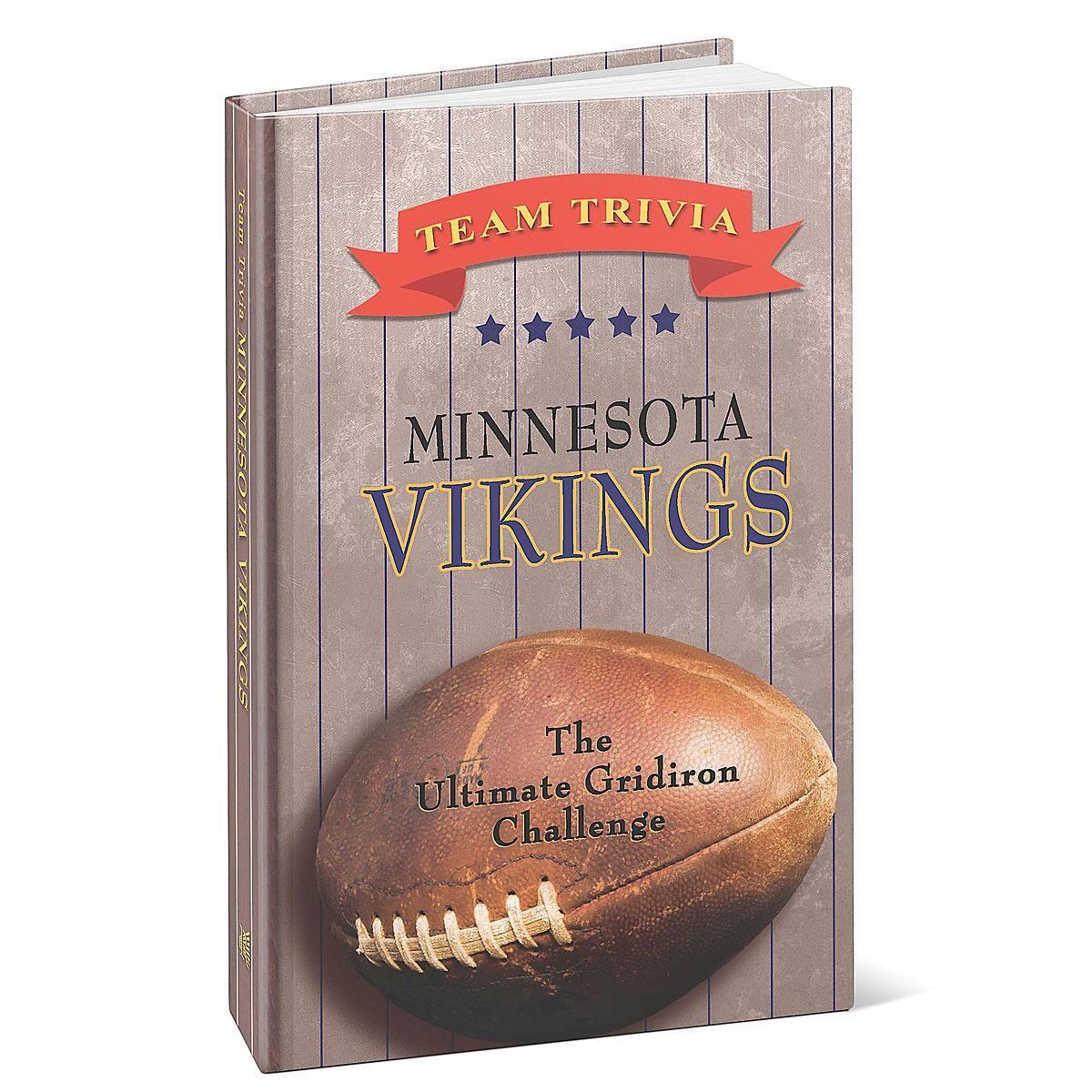 Minnesota Vikings NFL Team Trivia Book