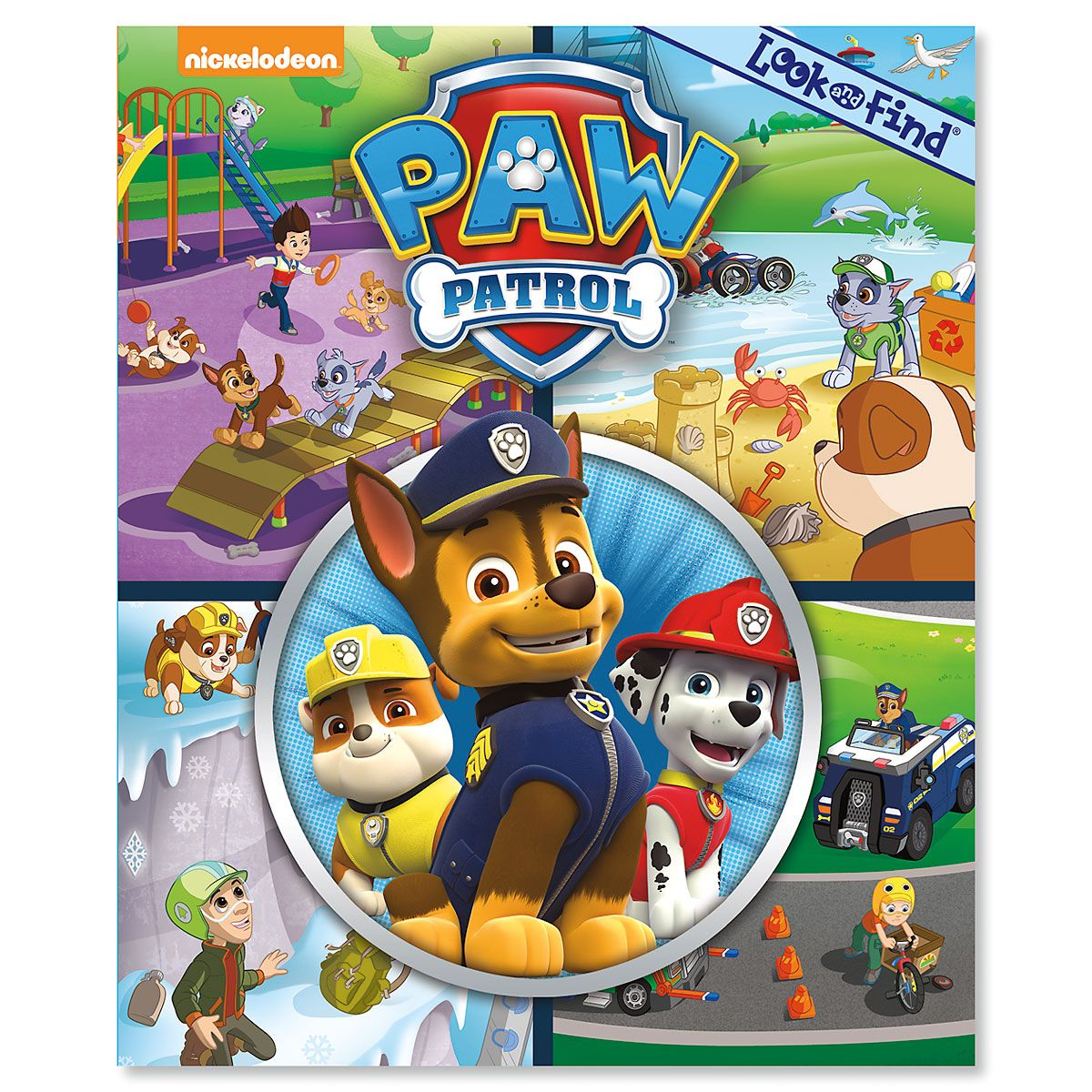 Look and Find Books - Paw Patrol