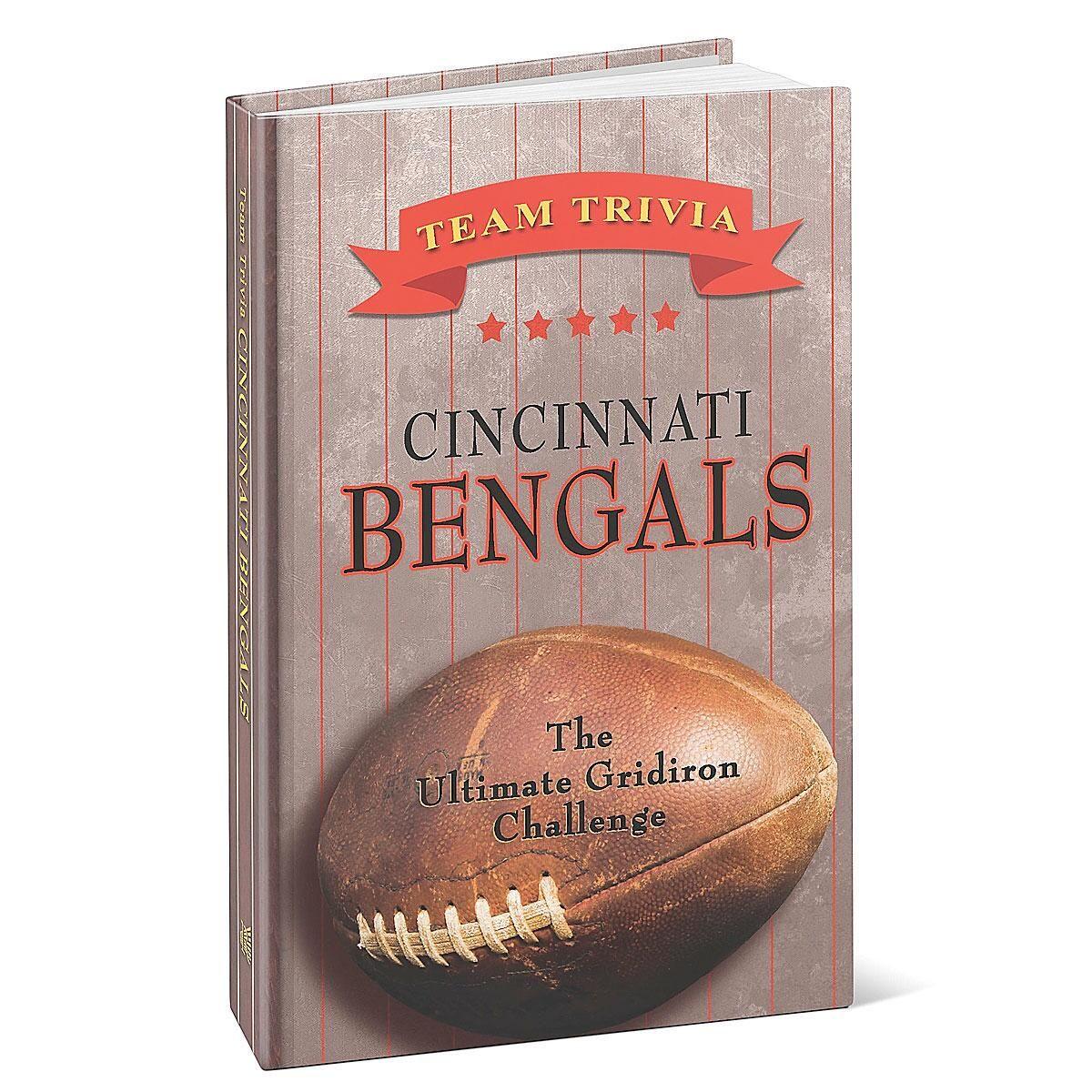 Cincinnati Bengals NFL Team Trivia Book