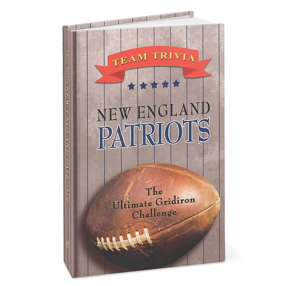 New England Patriots NFL Team Trivia Book