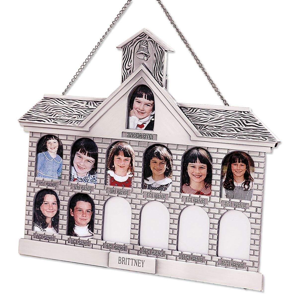 Silver Finish Schoolhouse Frame
