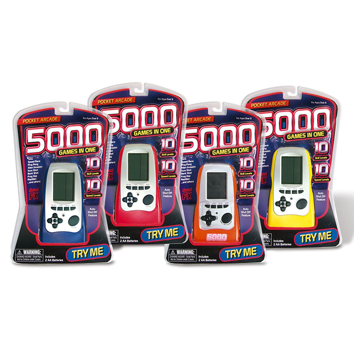 Handheld 5000 Games in One