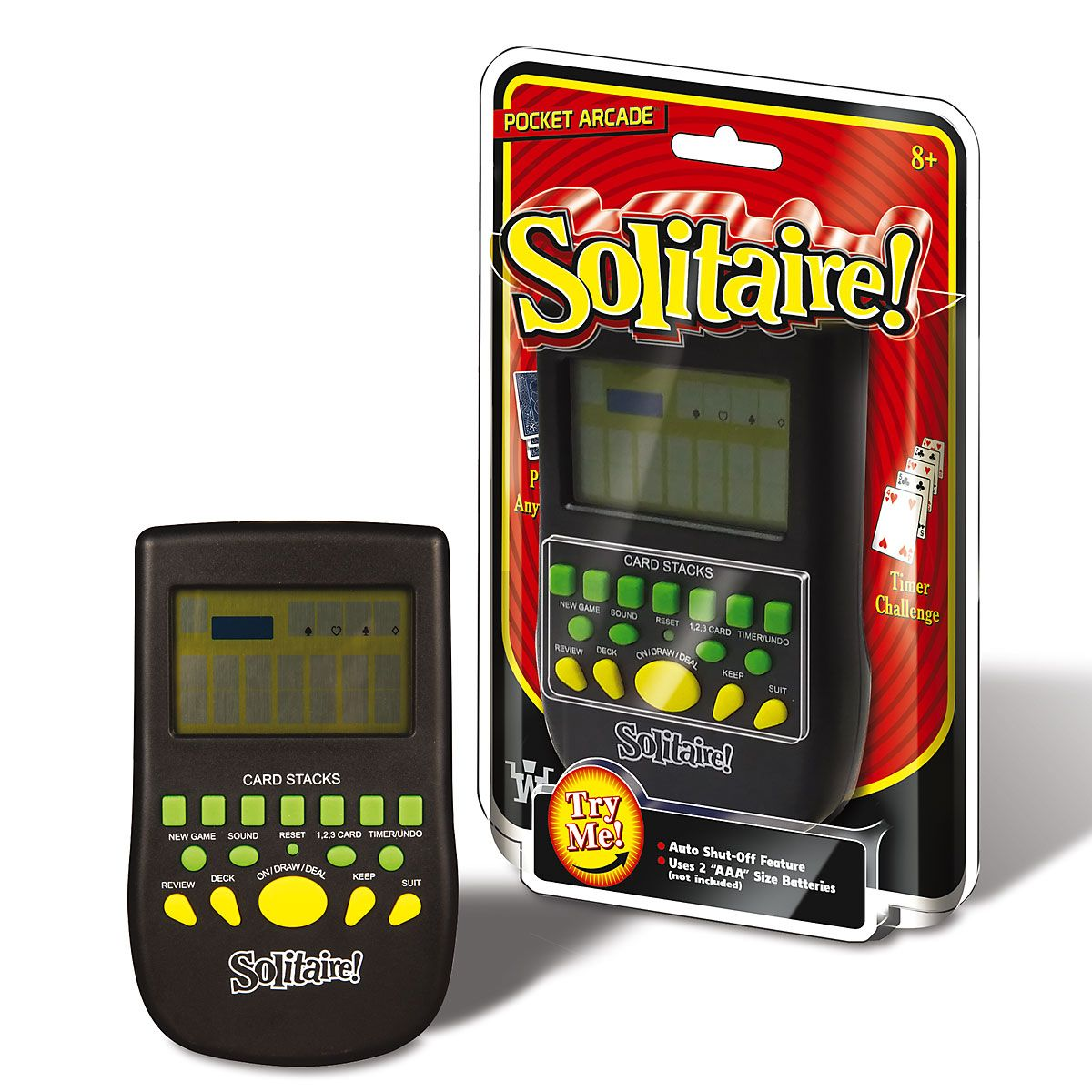 Classic Handheld Game - Solitare
