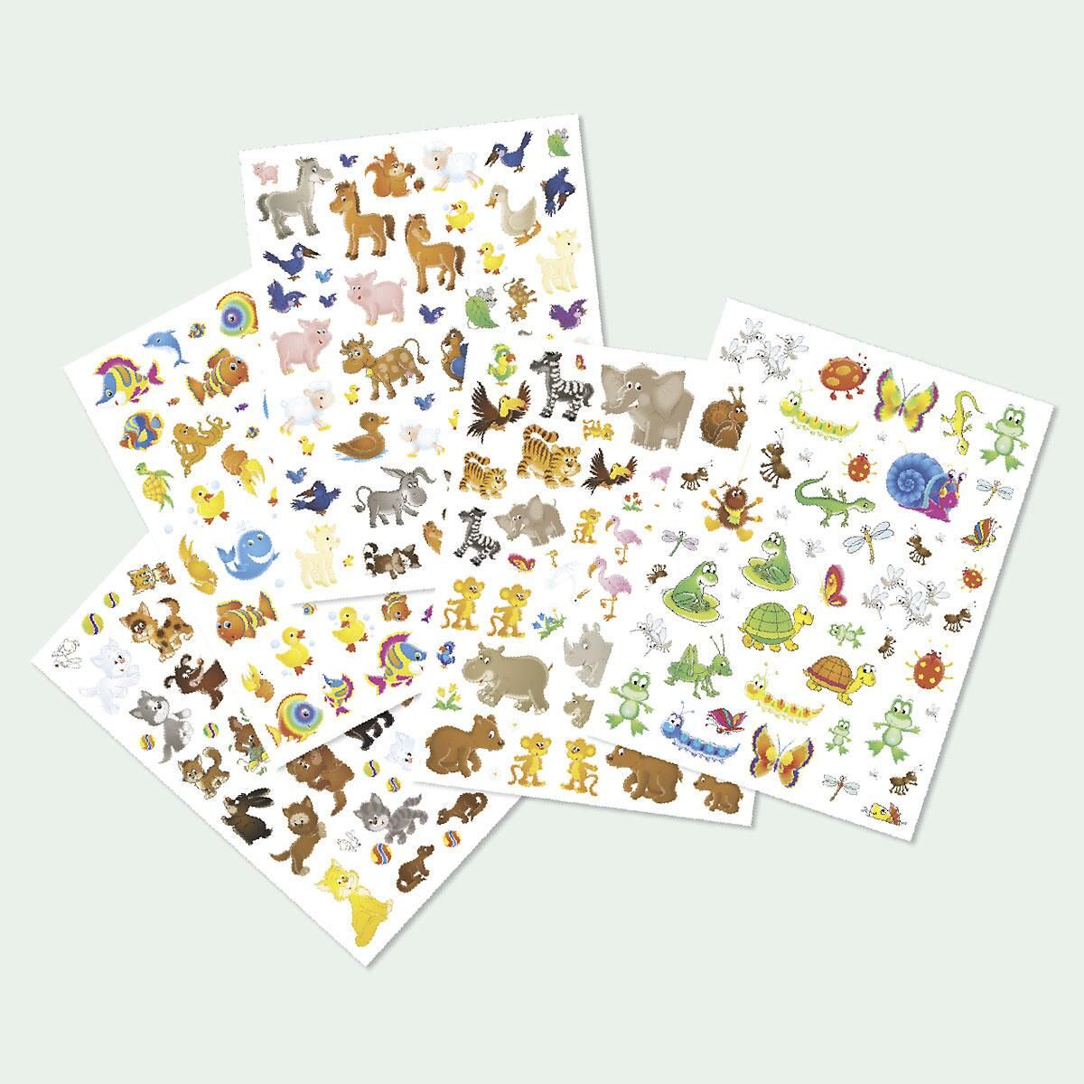 Animal Stickers Value Pack