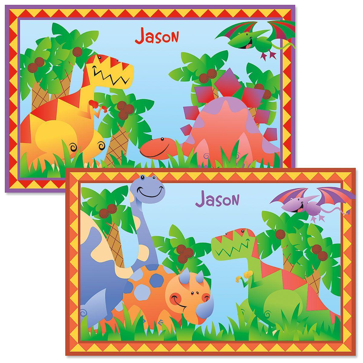Kids' Dinosaur Placemat