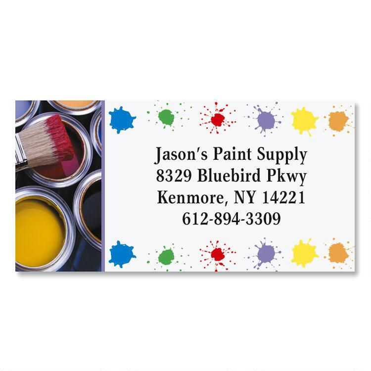 Painter Border Address Labels