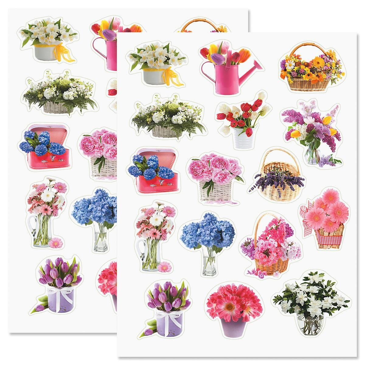 Flower Arrangement Stickers