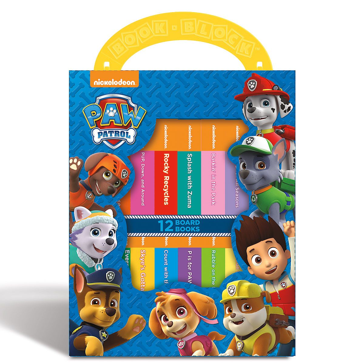 My First Library Set of Board Books - Paw Patrol