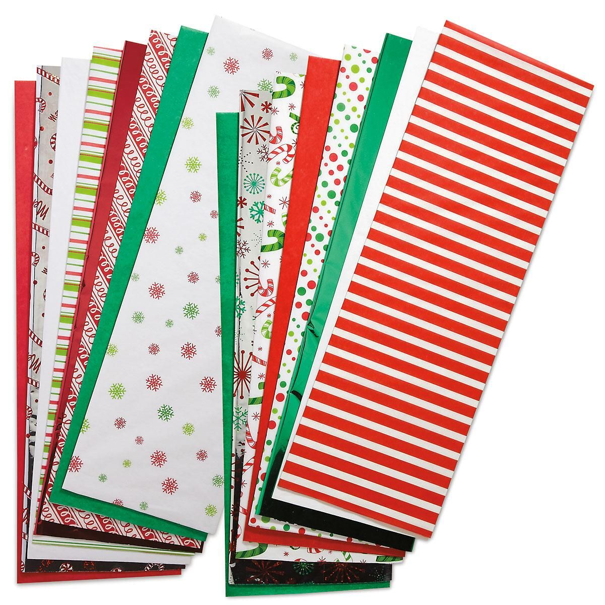 Christmas Prints and Solids Tissue Value Pack - 300 Sheets