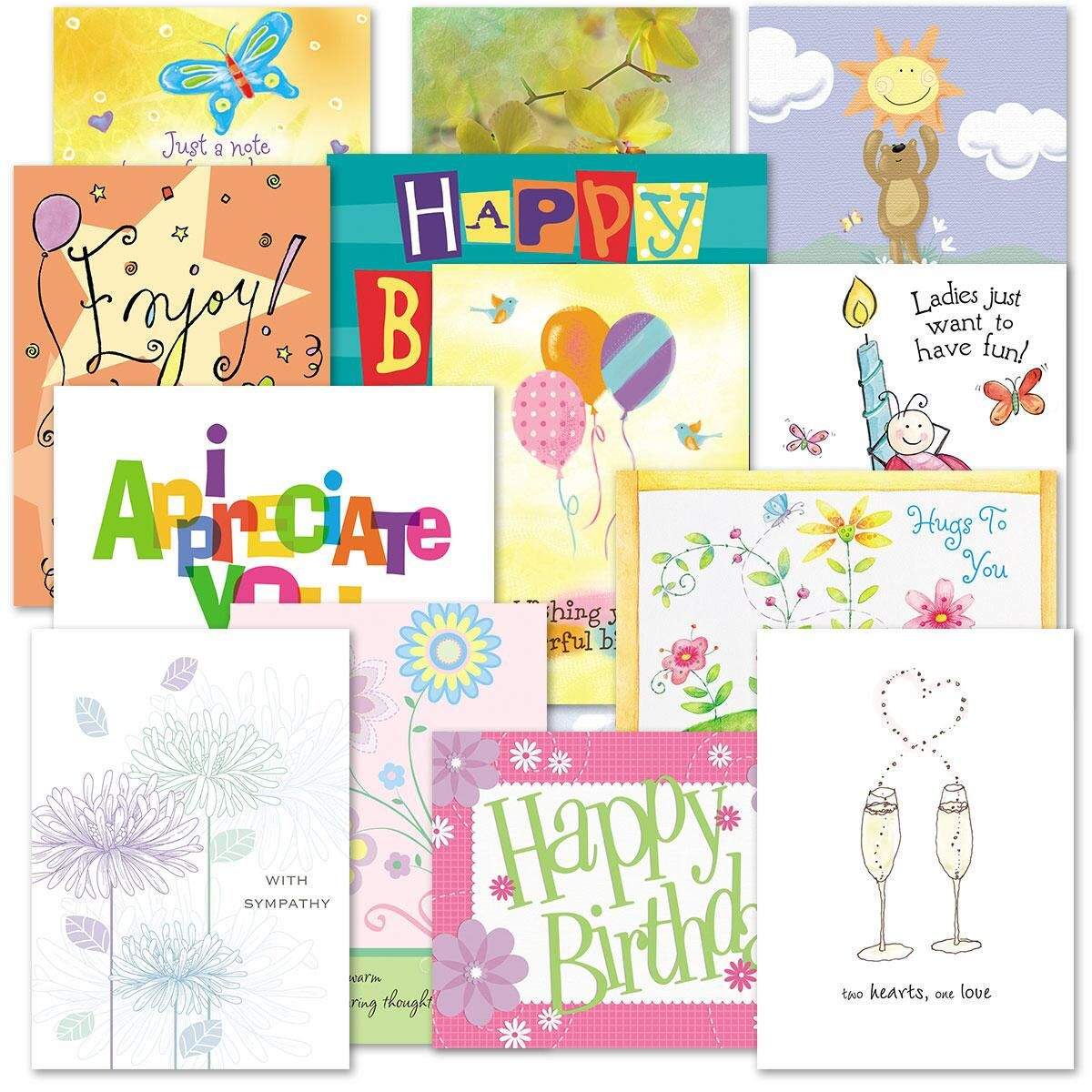 Mega All Occasion Cards Value Pack - Set of 80