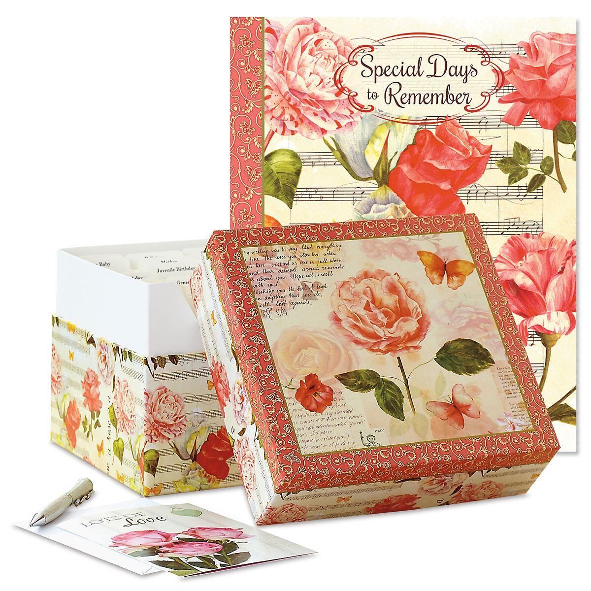Roses Greeting Card Organizers