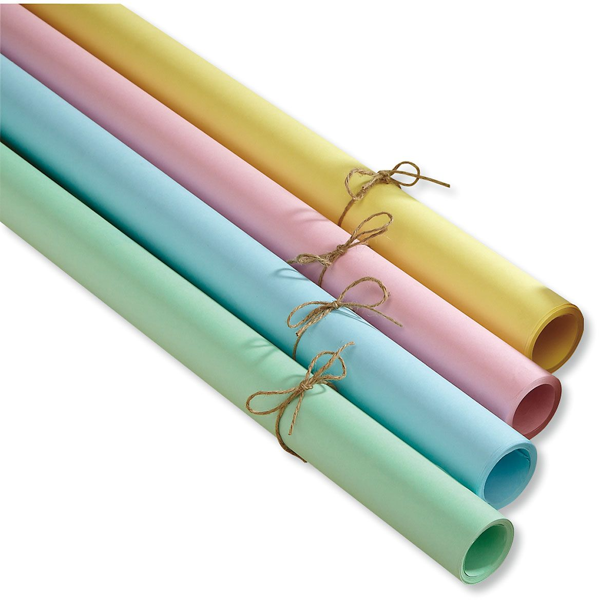 Spring Pastel Kraft Gift Wrap