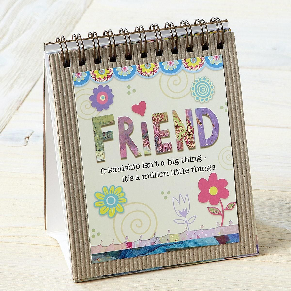 Friend Easel Book