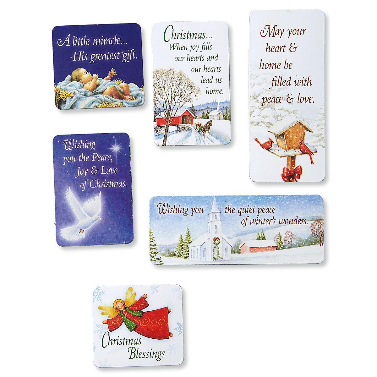 Christmas Dove Magnets