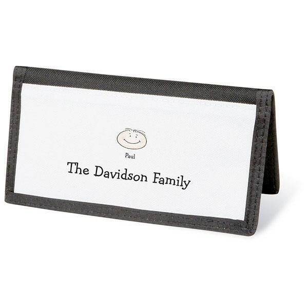 Happy Family Personal Checkbook Covers