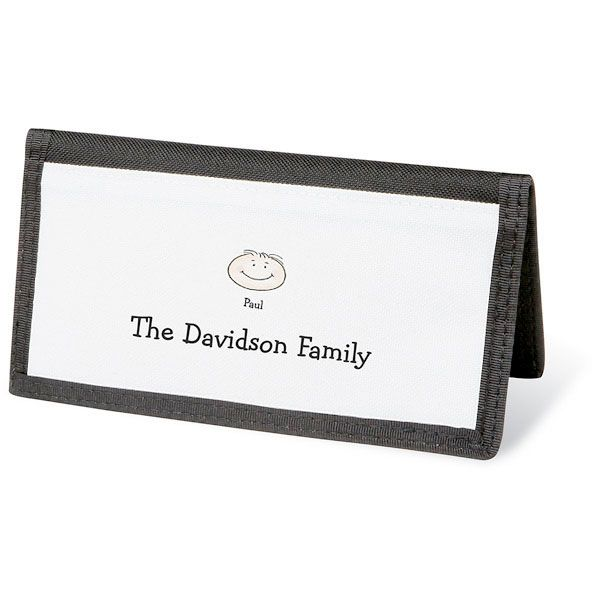 Happy Family Personal Checkbook Cover-1 Face-082423A
