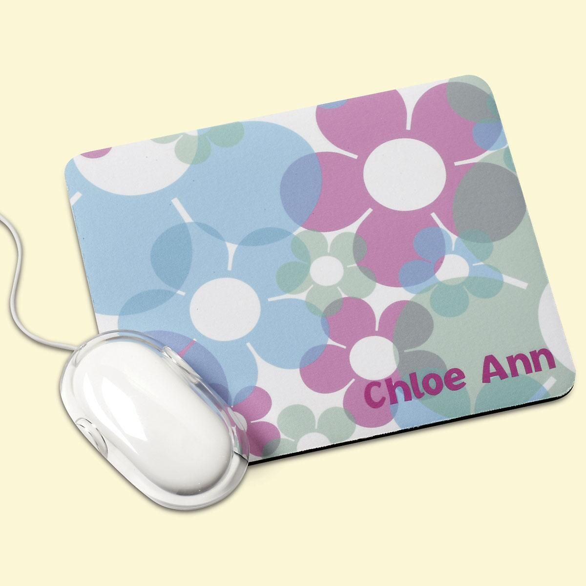 Floral Fusion  Mouse Pad
