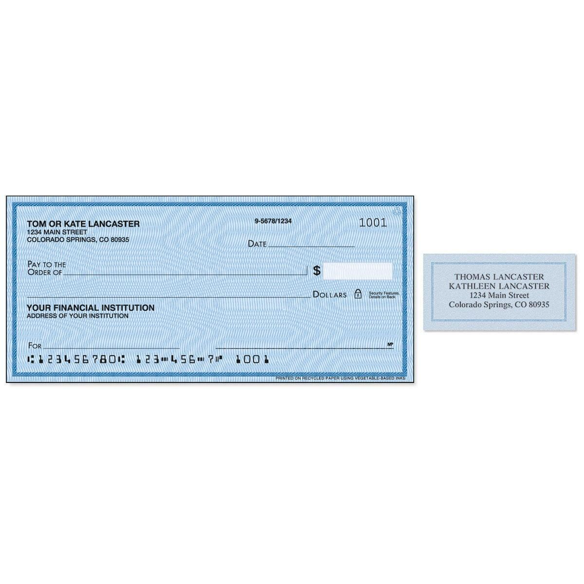 security blue duplicate checks with matching address labels