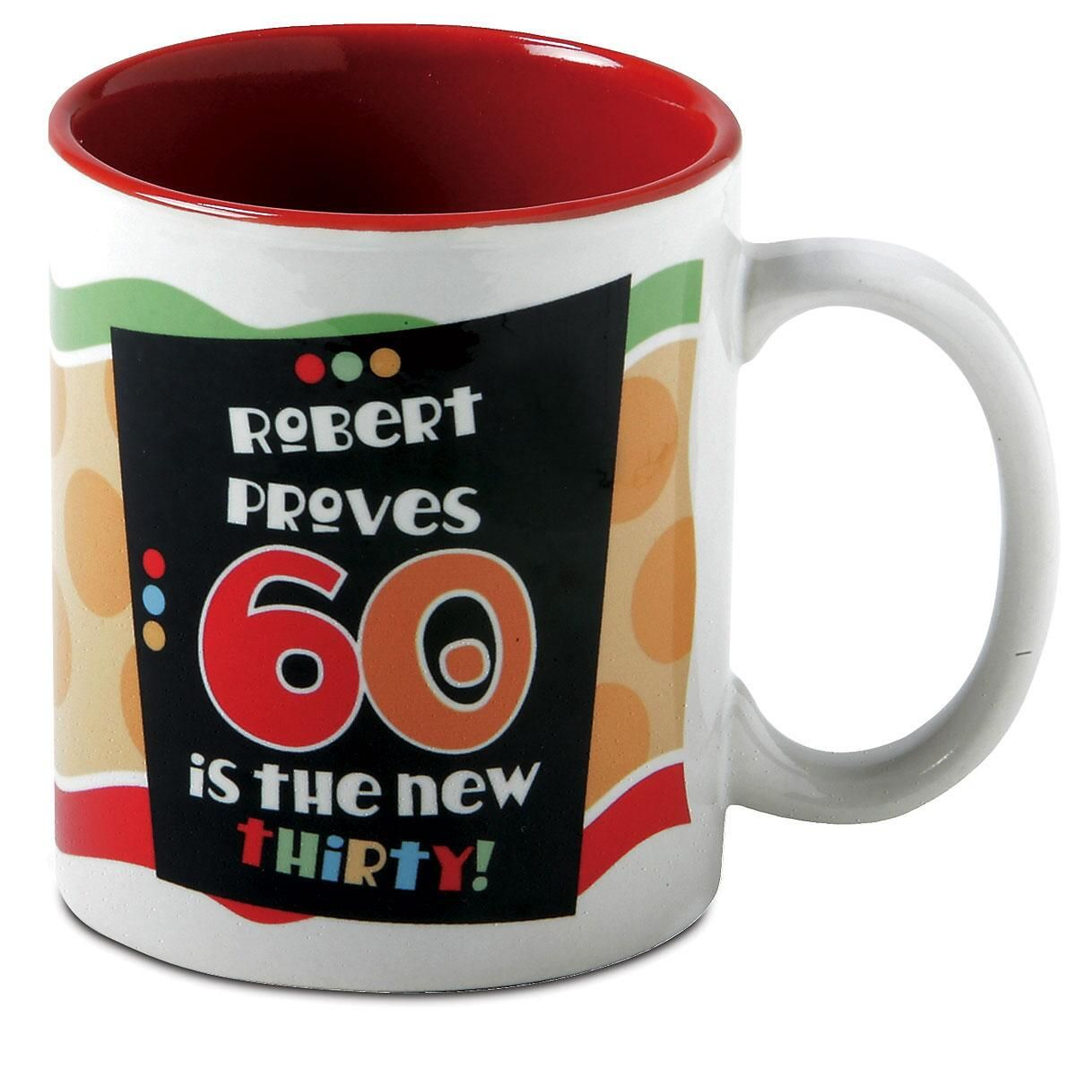 60th Birthday Milestone Personalized Mug