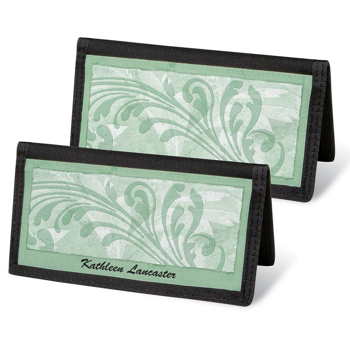 Scroll  Checkbook Covers