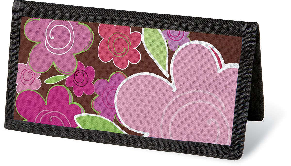 Shades of Pink Checkbook Cover - Non-Personalized