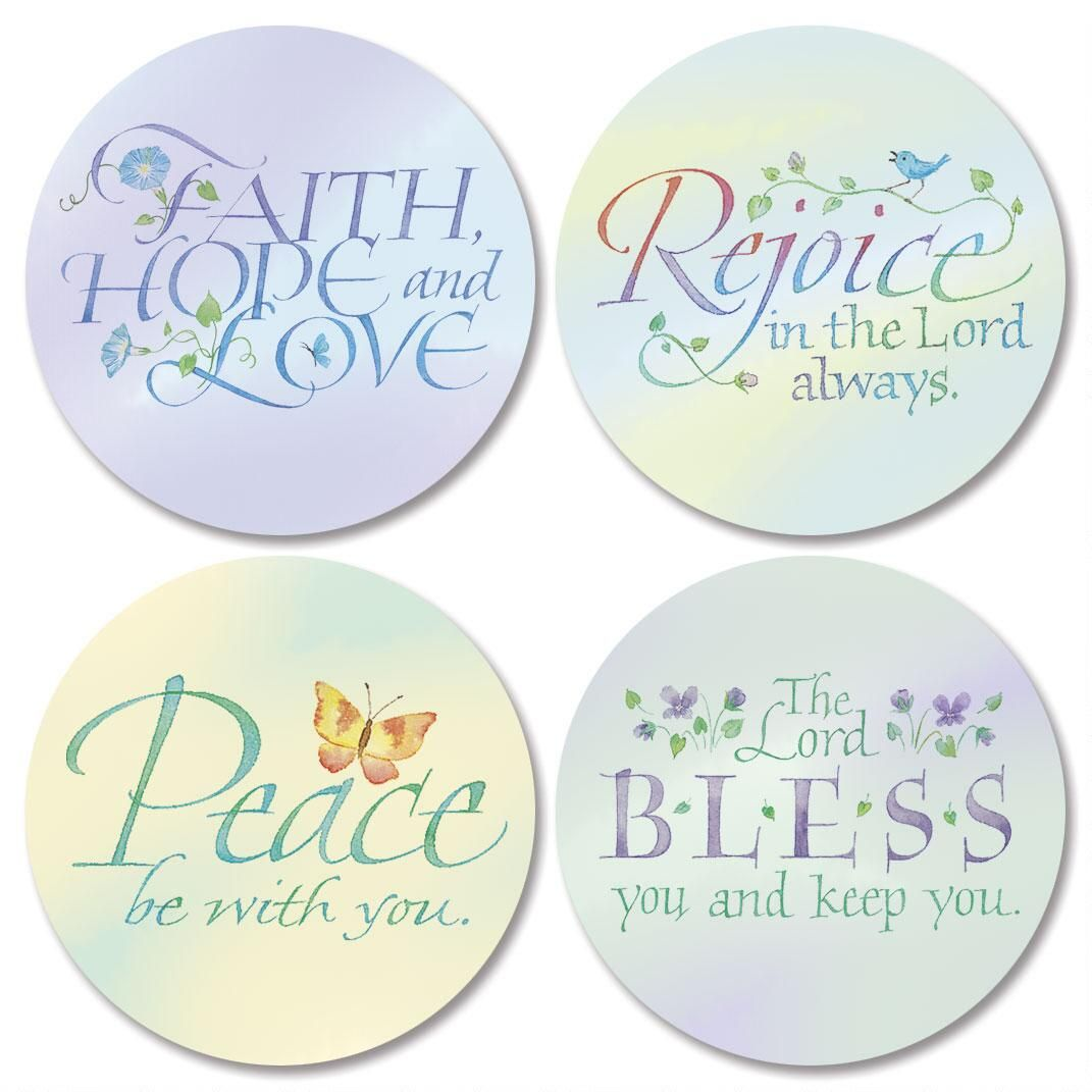 Expressions of Faith® Seals (4 Designs)