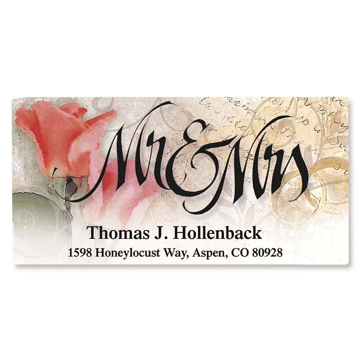 Mr. & Mrs. Address Labels