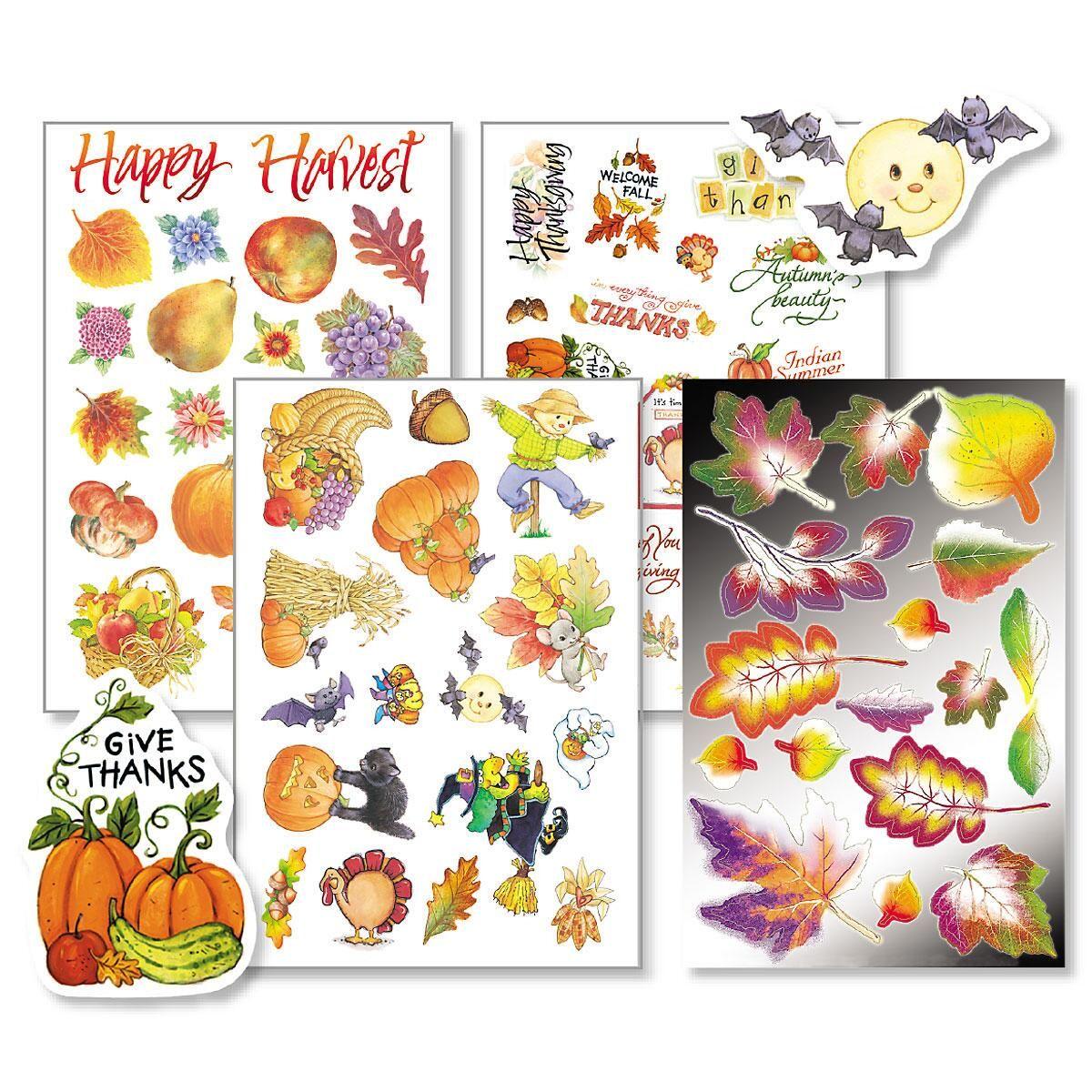 Autumn Sticker Value Pack