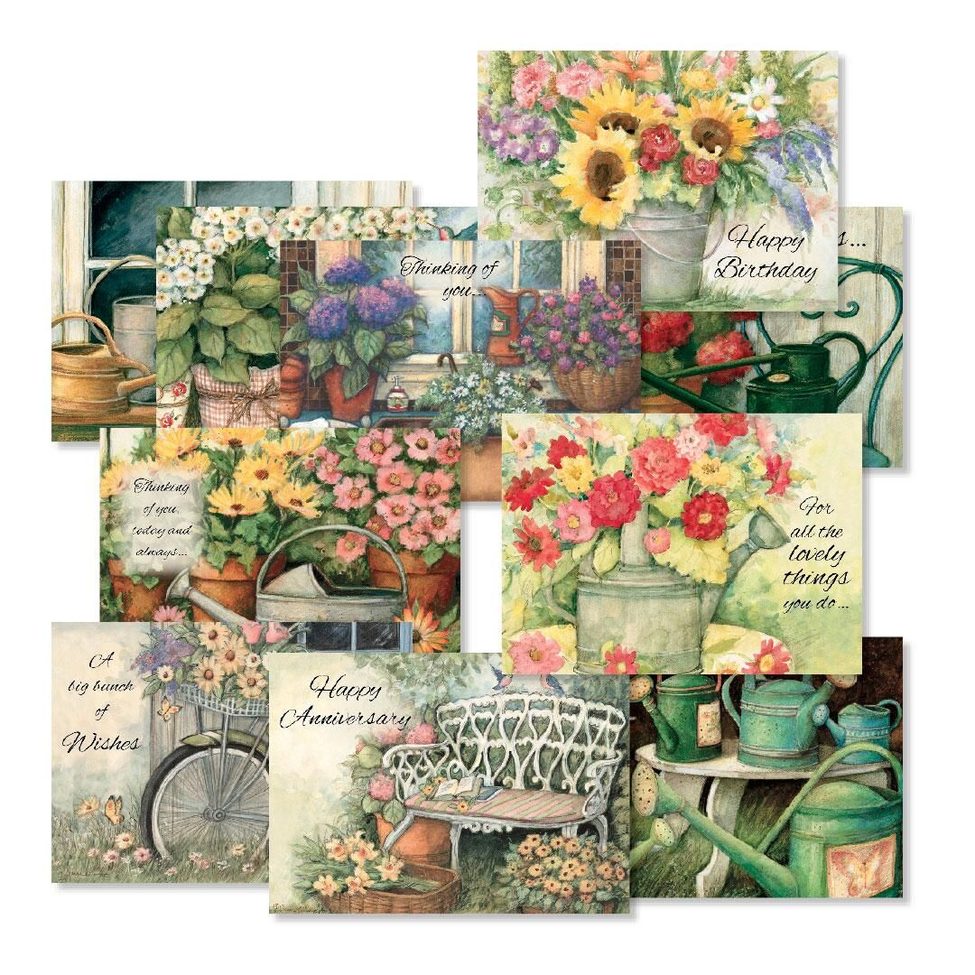All-Occasion Greeting Cards Country Value Pack