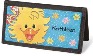 Suzy's Zoo  Checkbook Cover - Personalized