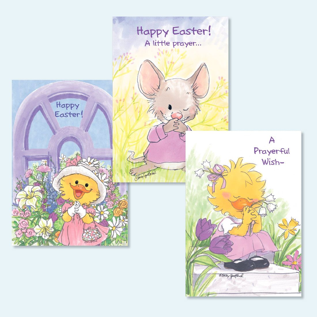 Suzy's Zoo Easter Cards