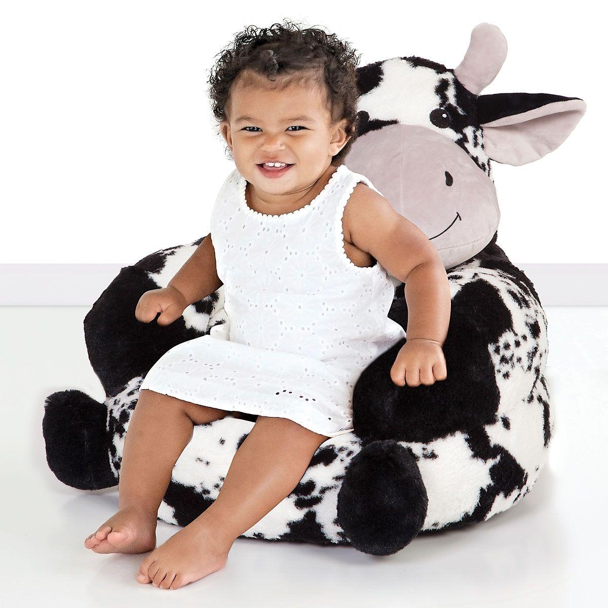Cow Children's Plush Chair