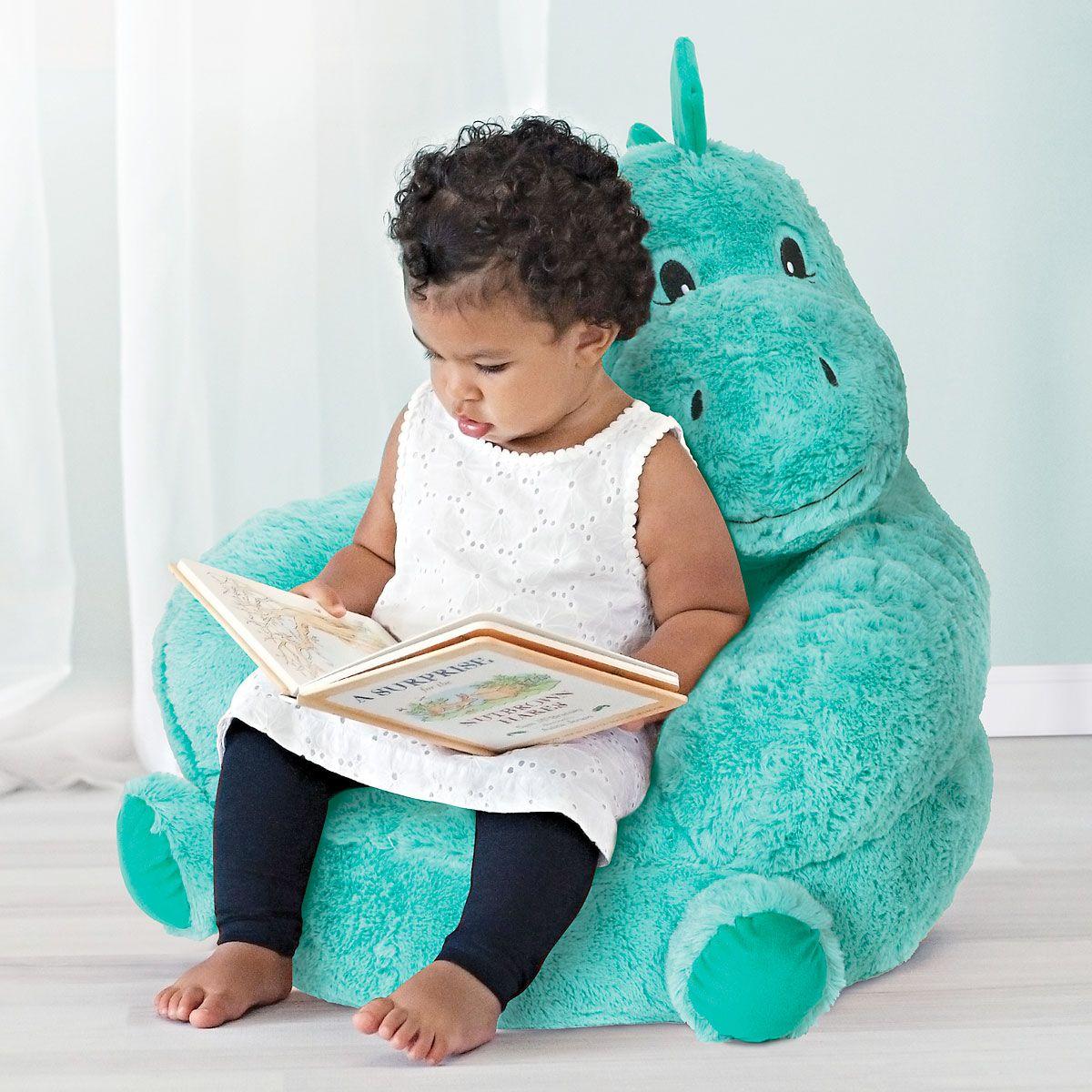 Dino Children's Plush Chair