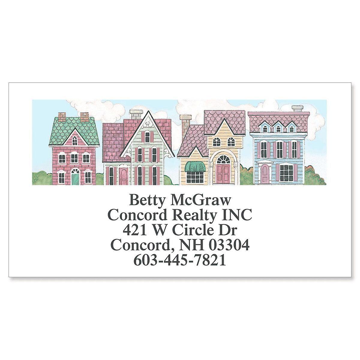 Victorian Homes Designer Calling Cards