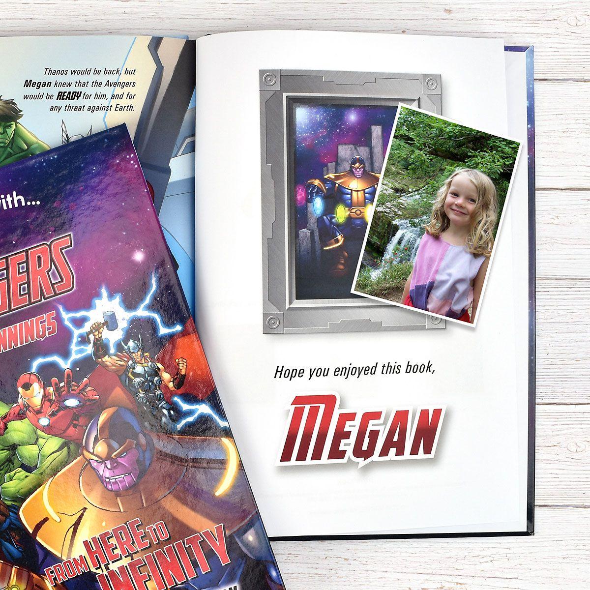 Marvel Avengers Personalized Storybook