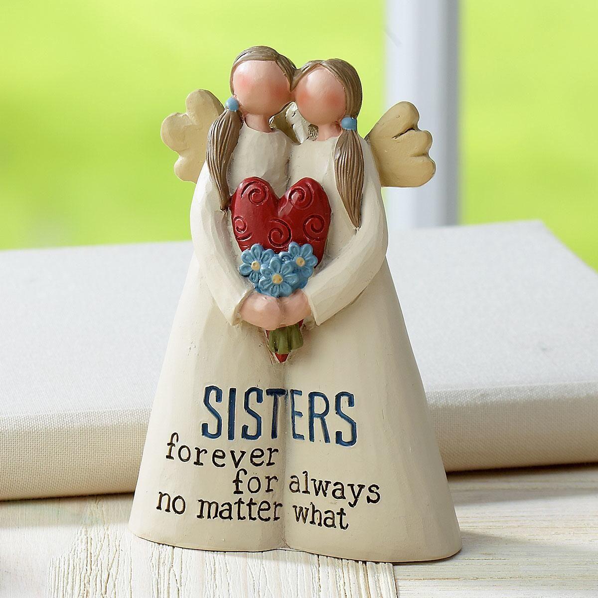 Sisters Forever Angel Figurine