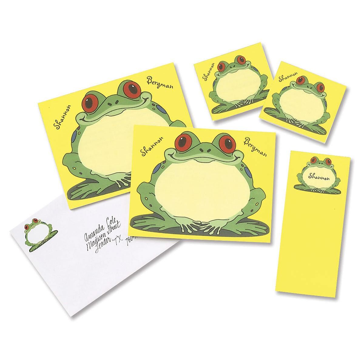 Froggy Notepad Set