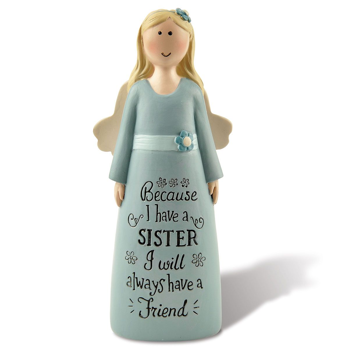 Because I Have a Sister Angel Figurine
