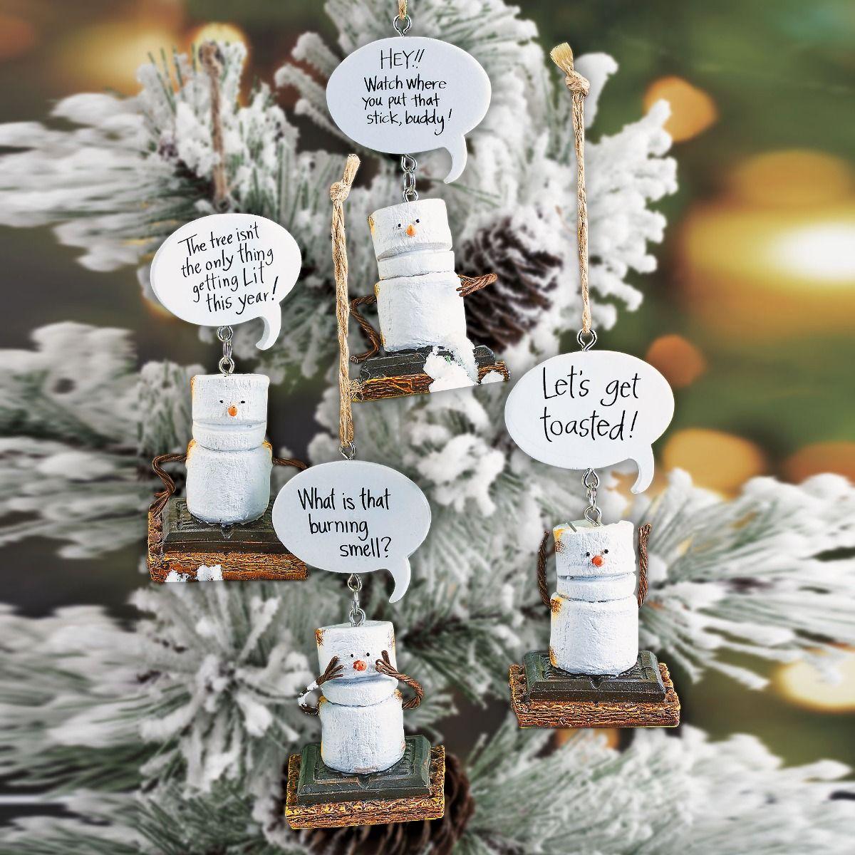 S'mores Ornaments