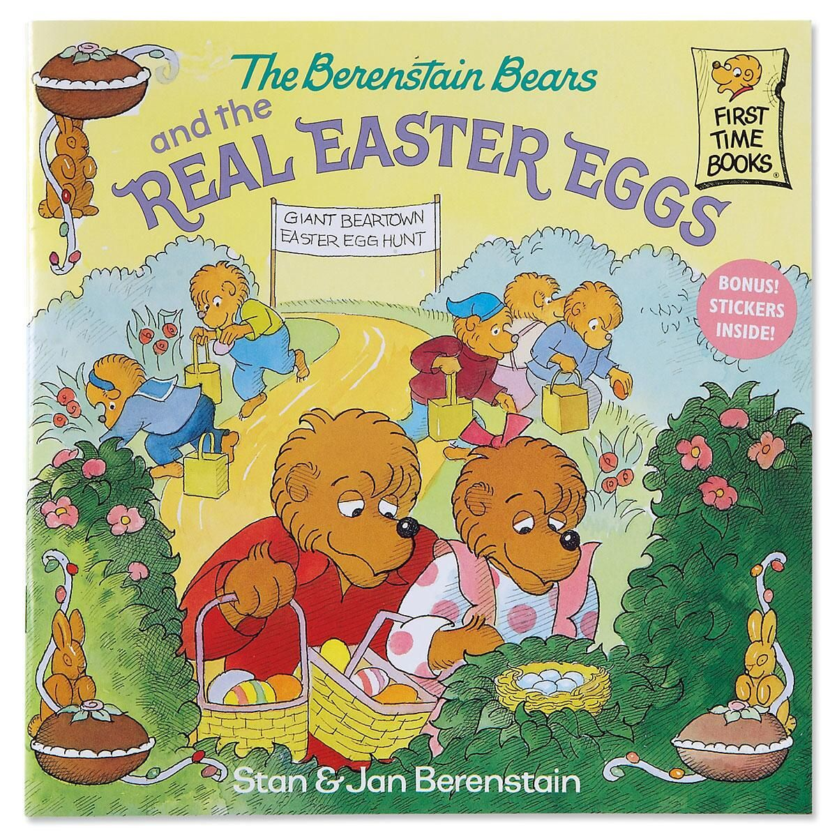 The Berenstain Bears & the Real Easter Eggs