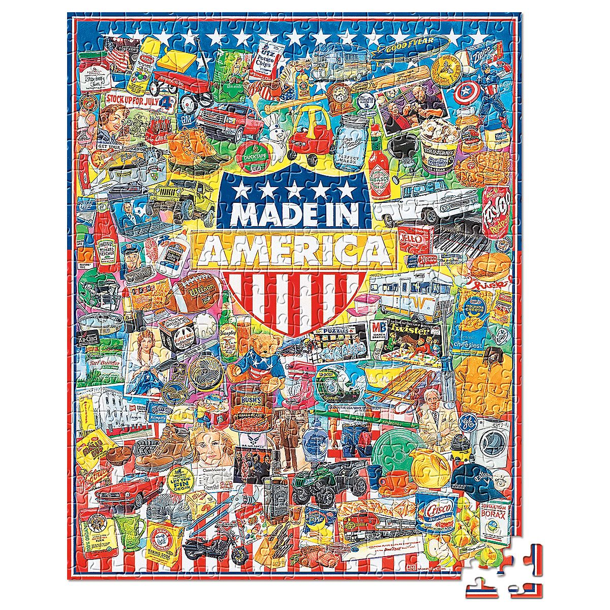Made in America Puzzle