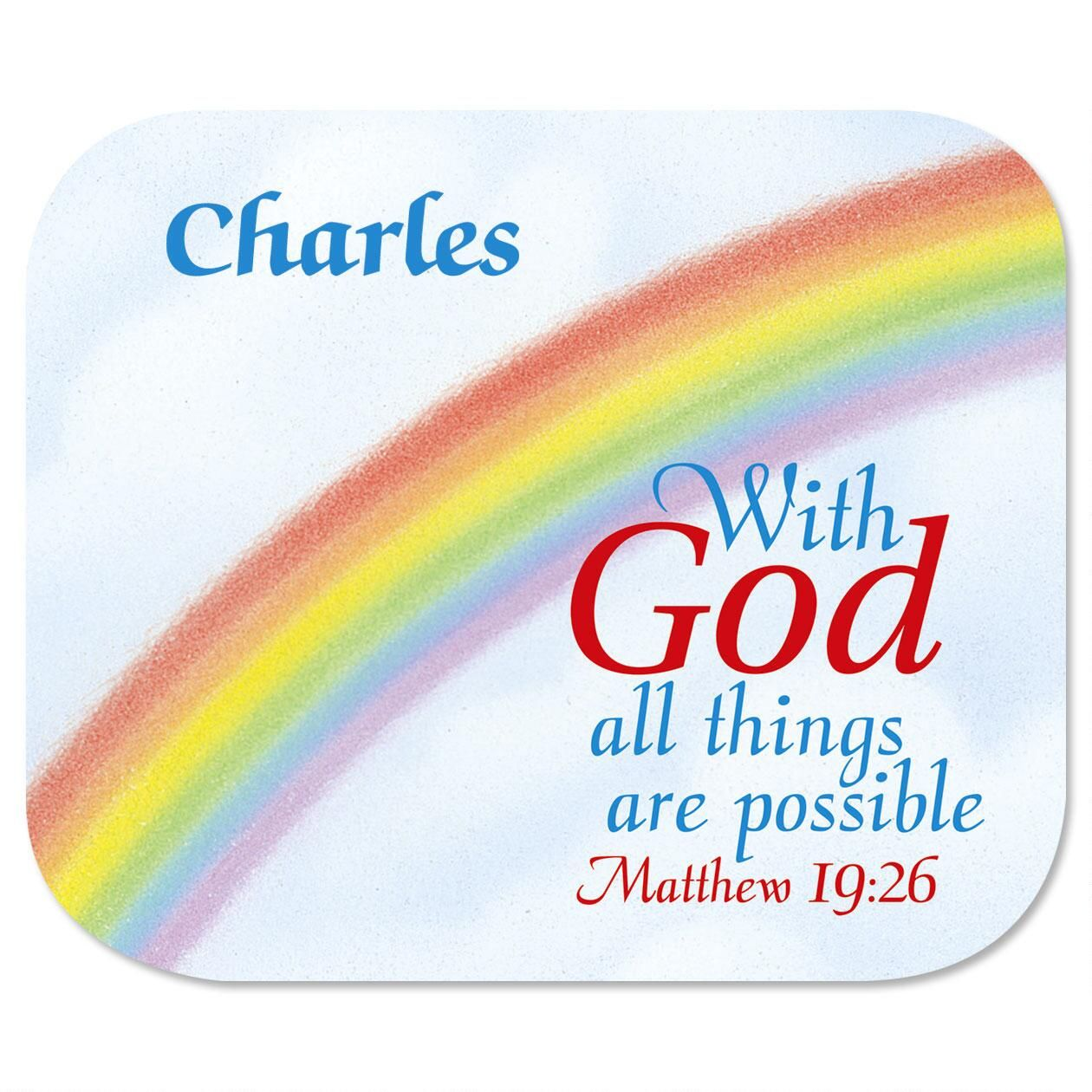 With God Mousepad