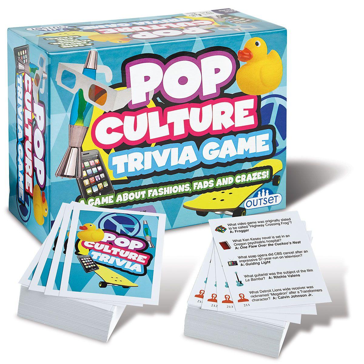 Pop Culture Trivia Game