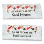 An Orginal By Sewing Labels