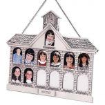 Silver Schoolhouse Frame