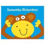 Monkey Kids Note Cards