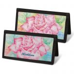 Floral Fancy  Checkbook Covers