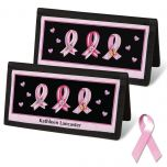 Pink Ribbon  Checkbook Covers
