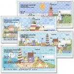 Lighthouses by Jim Shore Premium Checks